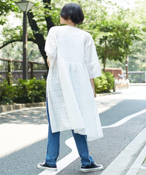 CONVERSE TOKYO/コンバーストウキョウ 星柄レースガウン