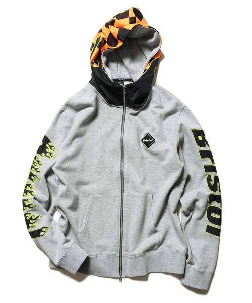 驚きの安さ CHECKER FLAME FLAME ZIPUP ZIPUP HOODIE(パーカー)|F.C.Real Bristol(エフシーレアルブリストル)のファッション通販, パティスリーカーディナル:baaa0136 --- ruspast.com