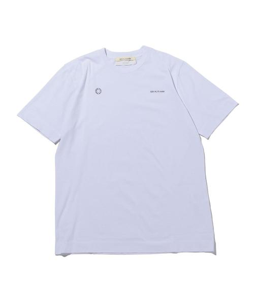 <1017 ALYX 9SM> SS TEE WH/Tシャツ