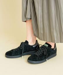 【予約】<adidas Originals(アディダス)>スエード STAN SMITH スタンスミス/BLACK
