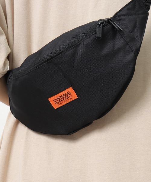 【 UNIVERSAL OVERALL / ユニバーサルオーバーオール 】# ウエストバッグ ボディバッグ UVO085 WEIST BAG DRE
