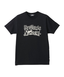 HYSTERIC GLAMOUR(ヒステリックグラマー)のDEVIL プリント Tシャツ(Tシャツ/カットソー)