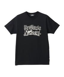 DEVIL プリント Tシャツ