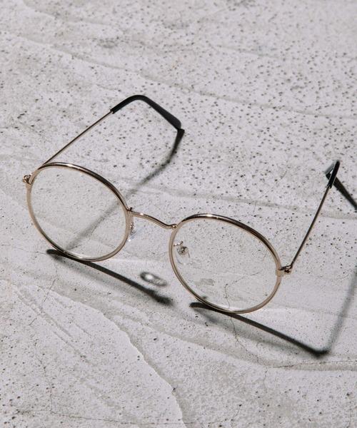 JUGLANS(ユグランス)の「ボストン型 サングラス 伊達メガネ(メガネ)」 D
