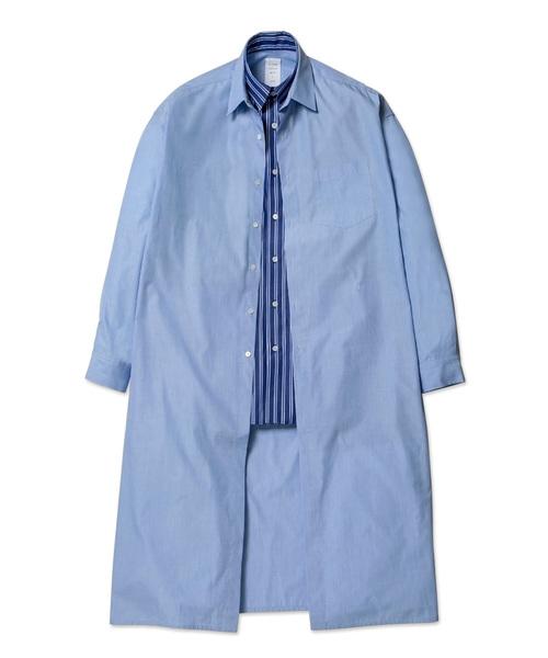 代引き人気 DOUBLE FRONT FRONT LONG LONG SHIRT(シャツ/ブラウス)|MISTERGENTLEMAN(ミスタージェントルマン)のファッション通販, SHOP AERU:a744ad92 --- arguciaweb.com