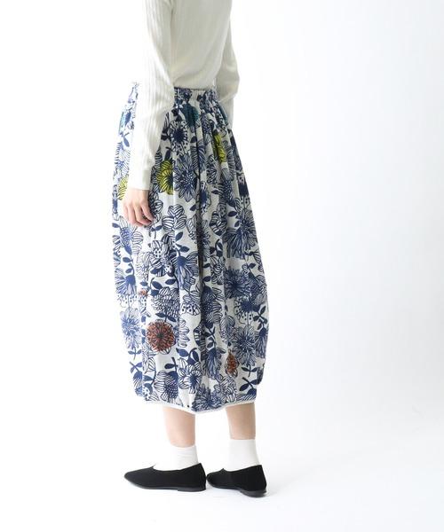 【 BARNDOOR / バーンドア 】 ミニ裏毛バルーンスカート 1142148G BUR
