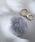 TONE SELECT GOODS(トーンセレクトグッズ)の「【TONE SELECT KEY HOLDER】ポンポンファーチャーム(キーホルダー)」|ライトグレー