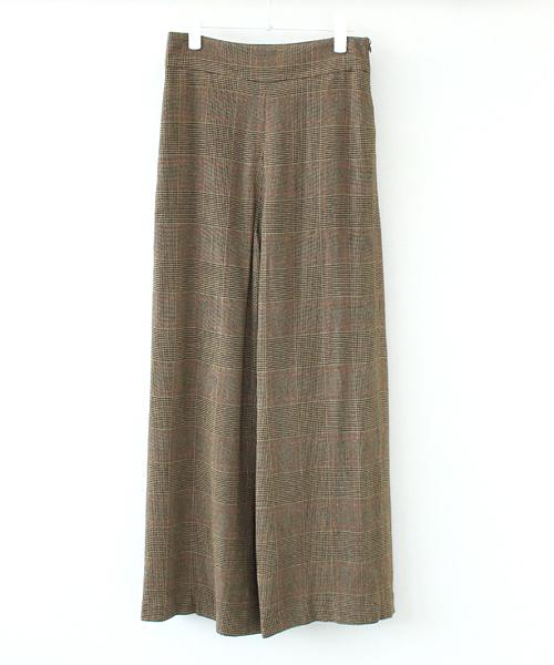 格安人気 【セール check】B7/ import/ check import pants(インポートチェック柄ワイドパンツ)(パンツ) DRESSLAVE(ドレスレイブ)のファッション通販, ライナースポーツ:39b4a24d --- dpu.kalbarprov.go.id