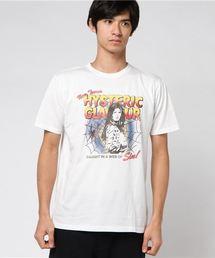 WEB OF SIN プリント Tシャツ