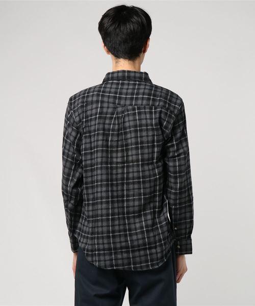 ビエラチェック長袖シャツネルシャツ