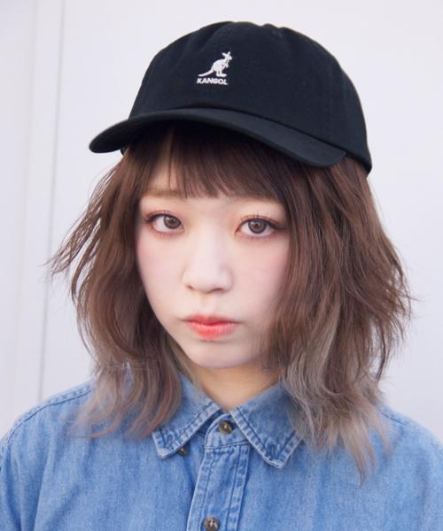 [KANGOL]Washed Baseball CAP/[カンゴール]ツイルキャップ