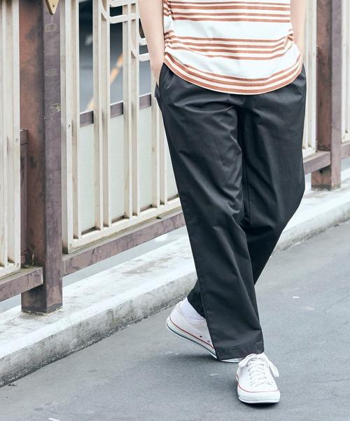 バルーンビッグシルエット シェフパンツ/スケーターパンツ ワイドデニムパンツ アソートfabric/ Chef's Pants -2021SUMMER-
