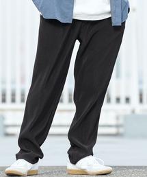 バルーンビッグシルエット シェフパンツ/スケーターパンツ ワイドデニムパンツ アソートfabric/ Chef's Pants -2021AW-ブラック系5