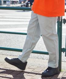 バルーンビッグシルエット シェフパンツ/スケーターパンツ ワイドデニムパンツ アソートfabric/ Chef's Pants -2021AW-グレー系1