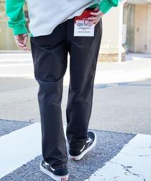 バルーンビッグシルエット シェフパンツ/スケーターパンツ ワイドデニムパンツ アソートfabric/ Chef's Pants -2021AW-ブラック系1