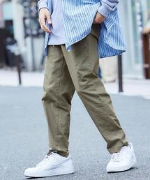 バルーンビッグシルエット シェフパンツ/スケーターパンツ ワイドデニムパンツ アソートfabric/ Chef's Pants -2021SPRING&SUMMER-グリーン系その他2