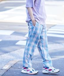 バルーンビッグシルエット シェフパンツ/スケーターパンツ ワイドデニムパンツ アソートfabric/ Chef's Pants -2021SPRING&SUMMER-ブルー系その他6
