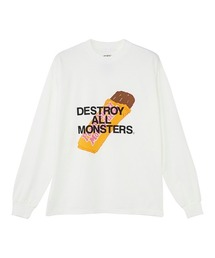 DESTROY ALL MONSTERS/PBMF Tシャツホワイト