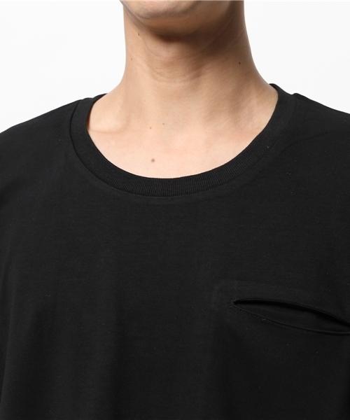 [Re Youth / リユース] マックスウェイト ポケットTシャツ 'MD15-TS12W'