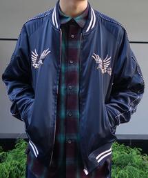 ALDIES(アールディーズ)のEagle Souvenir Jacket 刺繍入り スーベニアジャケット(スカジャン)