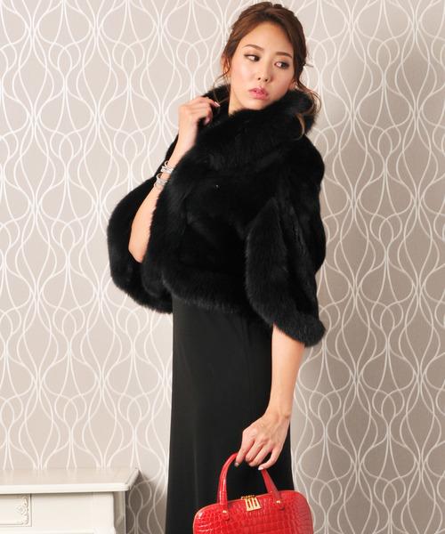 限定価格セール! [SAGA]ブラックミンクファーケープ(ポンチョ)|sankyo shokai(サンキョウショウカイ)のファッション通販, 電電虫@web:99dea910 --- hausundgartentipps.de