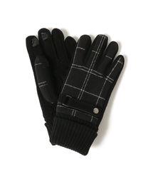 BEAMS(ビームス)の「BEAMS / チェック グローブ 18AW 【タッチパネル対応】(手袋)」