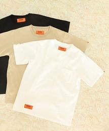 """【UNIVERSAL OVERALL / ユニバーサルオーバーオール】""""EXCLUSIVE/エクスクルーシブ"""" POCKET TEE ポケットTシャツホワイト"""