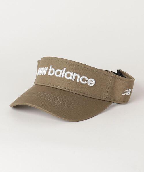New Balance Golf(ニューバランスゴルフ)の「【new balance golf】バイザー(サンバイザー)」 カーキオリーブ