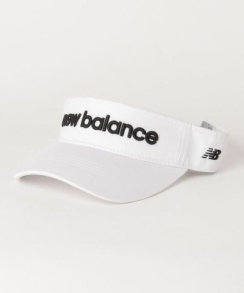 New Balance Golf(ニューバランスゴルフ)の「【new balance golf】バイザー(サンバイザー)」|ホワイト