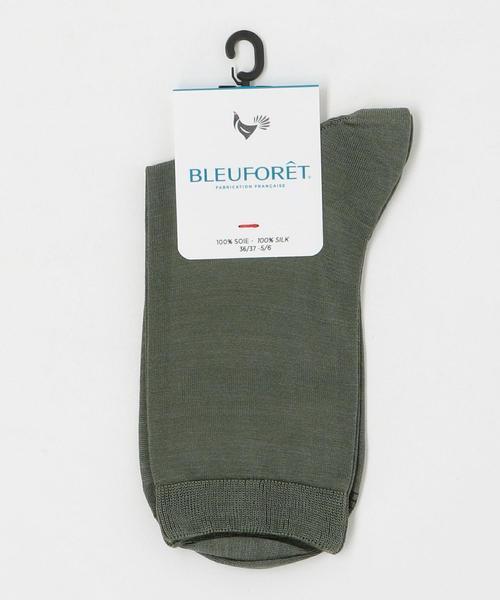 <BLEU FORET(ブルーフォレ)> SOIE SOX