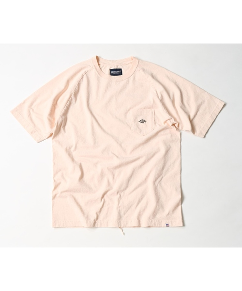 MAGIC NUMBER(マジック ナンバー)の「US COTTON RAGLAN POCKET TEE(Tシャツ/カットソー)」|ライトピンク