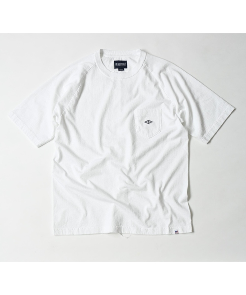 MAGIC NUMBER(マジック ナンバー)の「US COTTON RAGLAN POCKET TEE(Tシャツ/カットソー)」 ホワイト