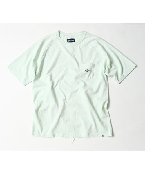 MAGIC NUMBER(マジック ナンバー)の「US COTTON RAGLAN POCKET TEE(Tシャツ/カットソー)」|ライトブルー