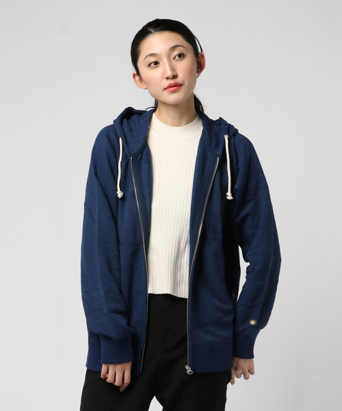 ZIP UP PARKA/H/C FLEECE