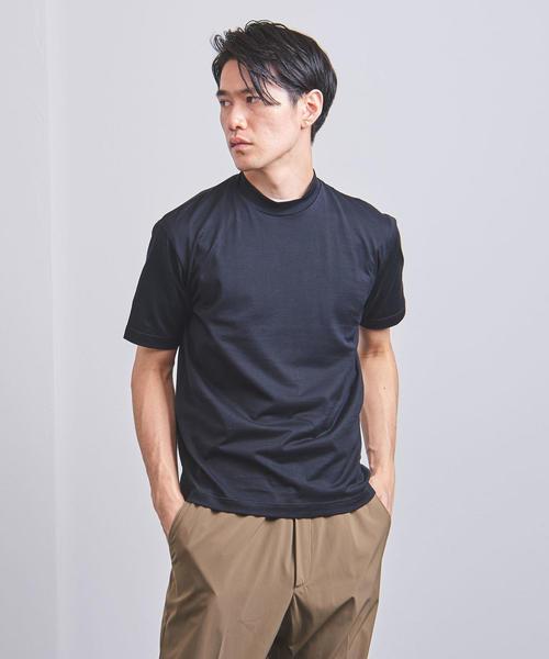 <SUNSPEL(サンスペル)> モックネック Tシャツ