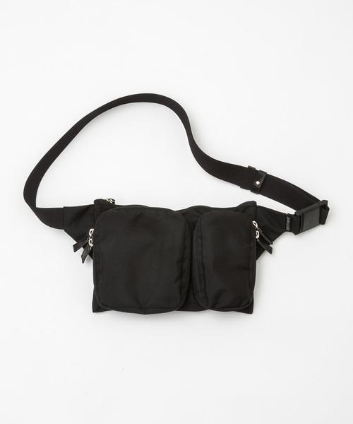 【20/80】トゥエンティーエイティー/CORDURA #610 DOUBLE POCKETS WAIST BAG