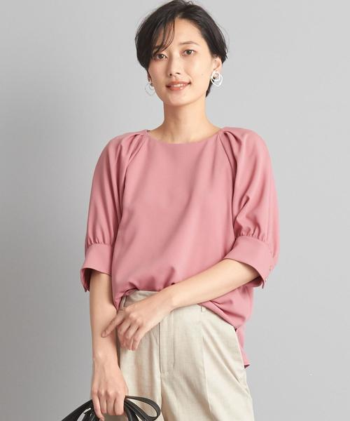 【WORK TRIP OUTFITS】★WTO CS ボリュームソデ / 5分袖