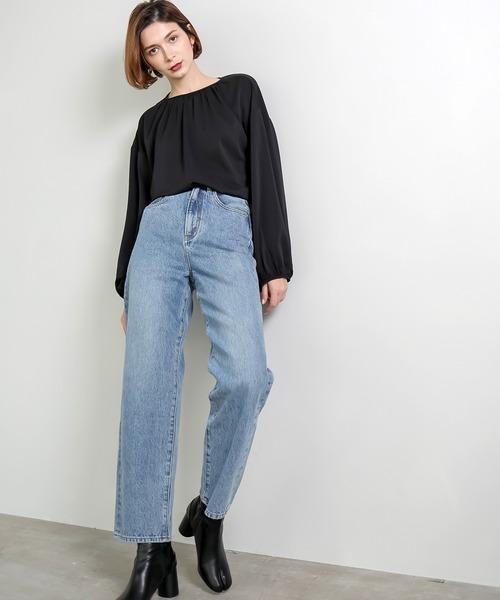 【chuclla】High waist  mom fit denim chw1366