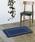 journal standard Furniture (ジャーナルスタンダードファニチャー)の「Cross Bandanna Rug 80*50 クロスバンダナラグマット ^(ラグ/マット)」|ネイビー