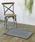 journal standard Furniture (ジャーナルスタンダードファニチャー)の「Cross Bandanna Rug 80*50 クロスバンダナラグマット ^(ラグ/マット)」|チャコールグレー