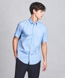 UASB オックスボタンダウン ショートスリーブシャツ ◆