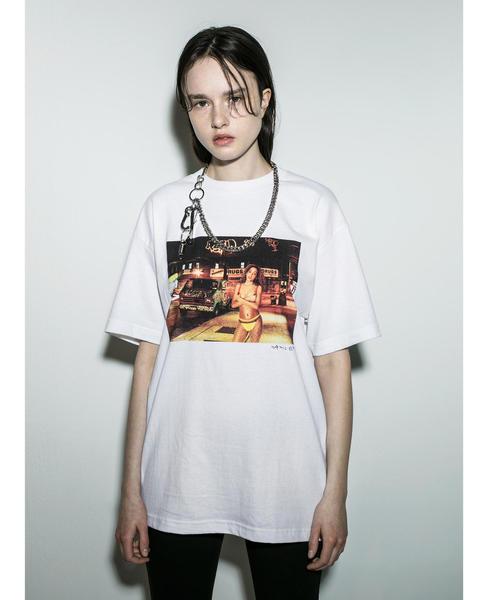 <BROW × JAMIL GS> BUSHWICK TEE/Tシャツ