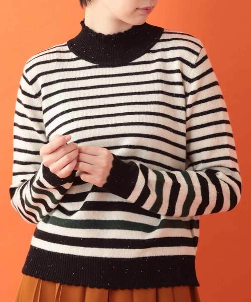 史上一番安い ボーダーハイネックニットプルオーバー(ニット/セーター)|Jocomomola(ホコモモラ)のファッション通販, neneno -ネネノ インテリア-:9ed9731e --- 5613dcaibao.eu.org