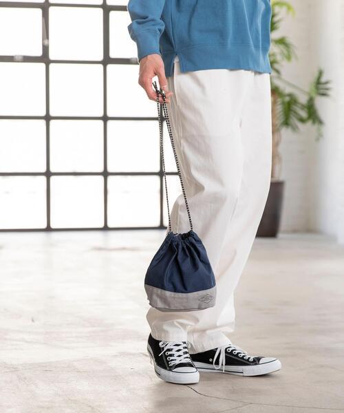 コットンリップ巾着バッグ