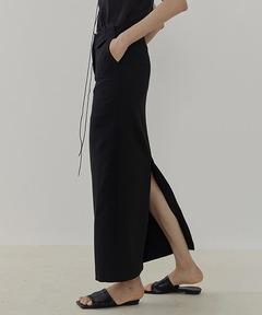 【UNSPOKEN】Back slit long skirt UC21B002
