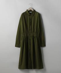 <YARMO(ヤーモ)> シャツ ドレス
