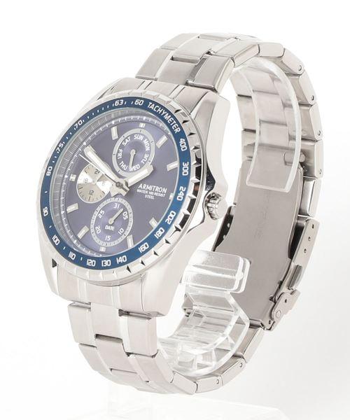 ARMITRON 腕時計 アナログ ドレスウォッチ 3ダイヤル