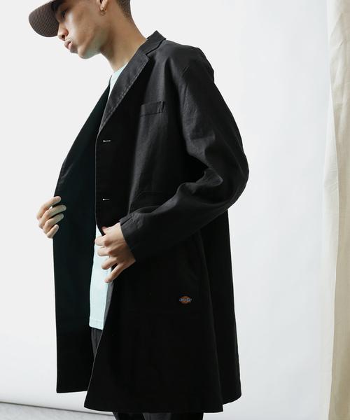 春のコレクション 【セール】Dickies×VIRGIL NORMAL×WISLOM/ディッキーズ×ヴァージルノーマル×ウィズロム 別注WORK COAT/ワークコート(ステンカラーコート) 別注WORK Dickies(ディッキーズ)のファッション通販, まつげエクステ商材LinerGlobal:16c012fa --- theothermecoaching.com
