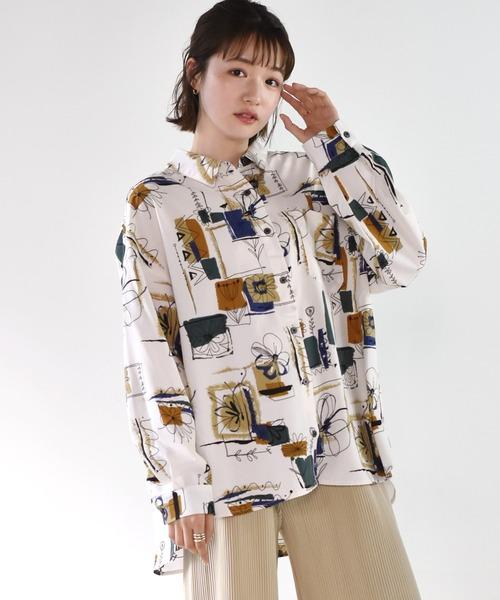 ペイント柄アソートシャツ