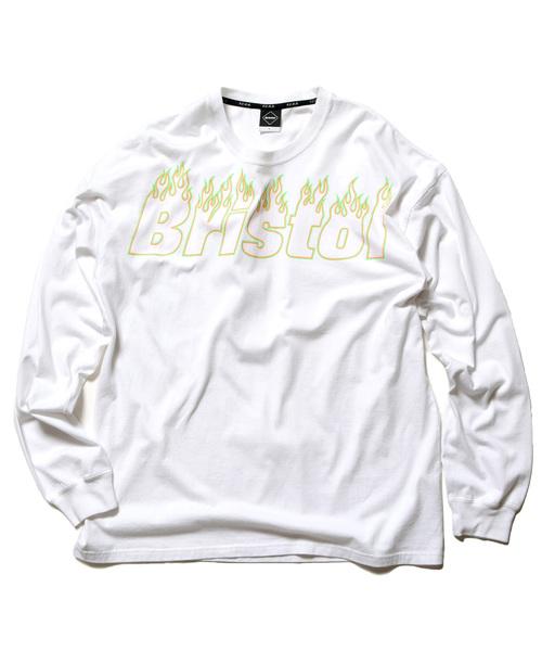 週間売れ筋 FIRE BRISTOL L L/S BIG/S F.C.Real BIG TEE(Tシャツ/カットソー)|F.C.Real Bristol(エフシーレアルブリストル)のファッション通販, ミナミチタチョウ:a1837bbb --- bebdimoramungia.it